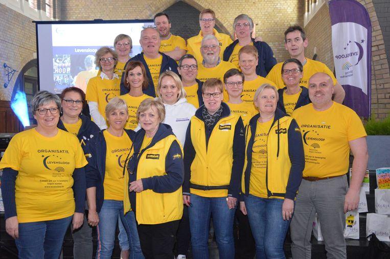 Het team van Levensloop in Aalst.