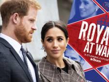 Nieuwe bestseller legt 'oorlog' tussen Britse royals bloot en hoe Meghan Harry voor schut zette