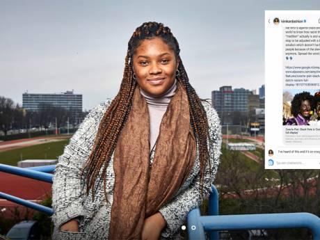 Deze student gaat viral met Zwarte Piet-bericht en krijgt zelfs reactie van Kim Kardashian