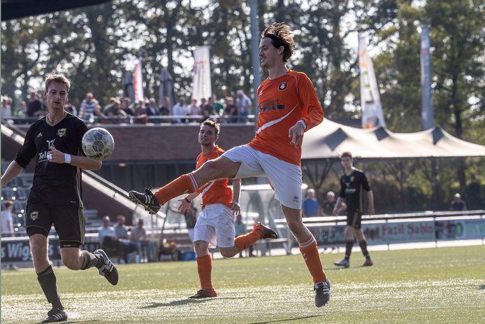 DVV verloor zaterdagmiddag met maar liefst 7-4. Archieffoto Jan van den Brink