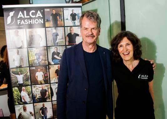 Jaap en Rita Krijgsman van Alca Fashion.