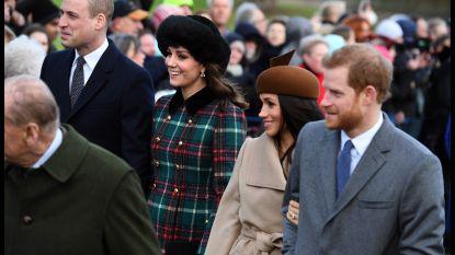 Meghan en Kate stelen de show tijdens koninklijke kerkdienst