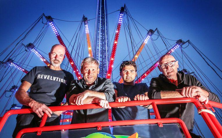 Ronny Van Eetvelde, Marino Dendooven, de nieuwe bassist Thomas Goorman en drummer Geert Omey zijn klaar om de hemel te bestormen.