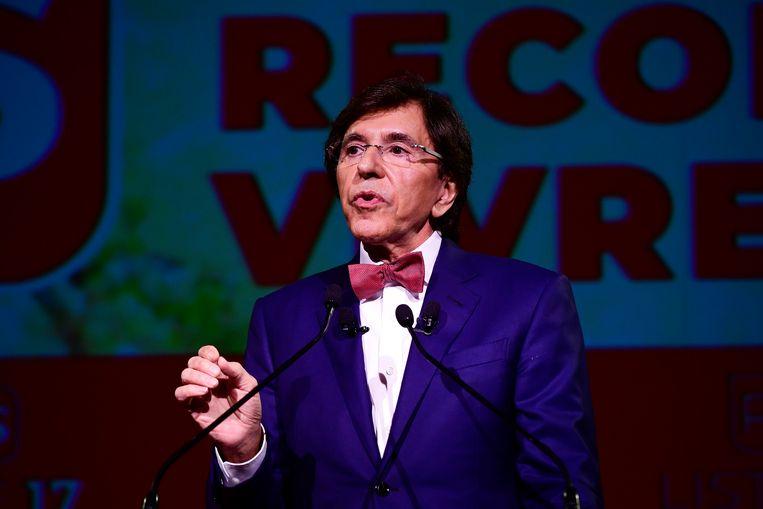Elio Di Rupo hoopt dat 26 mei voor de PS de dag van de 'remontada' en 'reconquista' wordt.