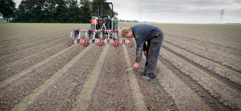 Leuk hoor, biologisch boeren, maar zonder risico is het niet
