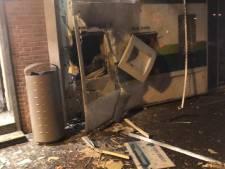 Enorme ravage na plofkraak op pinautomaat ABN Amro in Zundert: 'Schrok wakker van twee harde klappen'