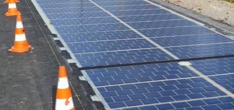 Primeur: Wegdek van zonnepanelen in provincie Utrecht