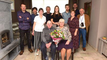 Noël en Simone 50 jaar samen een gouden koppel