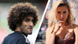 Fellaini op date gespot met bloedmooi ex-Playboy model dat van spionage verdacht werd
