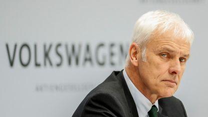 """""""Kantoor van VW-topman Matthias Müller ook onderzocht door Duitse justitie"""""""