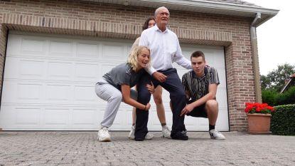 Vermeires maken samen familie-TikTok met glansrol voor Jacques