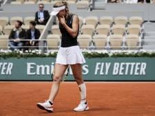 Wozniacki ondanks 'bagel' in eerste set toch onderuit