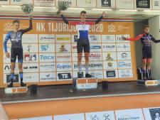 Elburgse wielrenner Van Dorp verdient zilver bij NK tijdijden