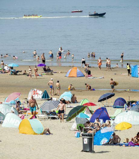 Heetste 9 augustus ooit gemeten, 600 boetes en 150 wielklemmen in Scheveningen