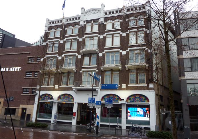 Grand Hotel Central aan de Kruiskade in Rotterdam.