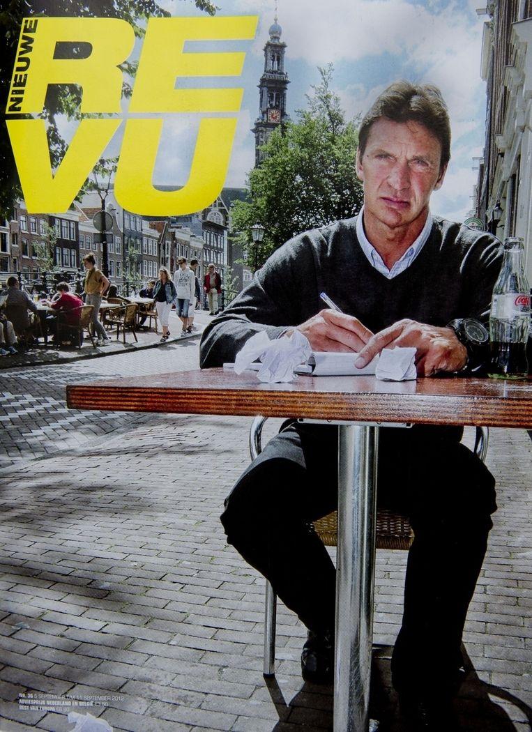 Sinds een aantal weken is Willem Holleeder columnist bij het tijdschrift Nieuwe Revu.