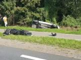 Twee gewonden en auto in sloot bij ongeluk in Hengelo