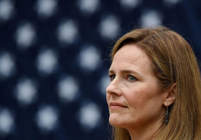Amy Coney Barrett, récemment nommée par Donald Trump.