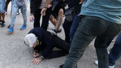 Nationalistische extremisten belagen progressieve Griekse burgemeester