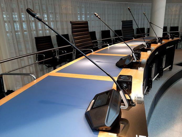 Voorlopig geen politiek in de raadzaal.