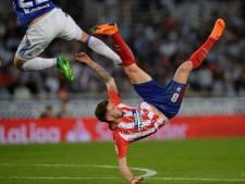 Atlético Madrid de boot in tegen Real Sociedad