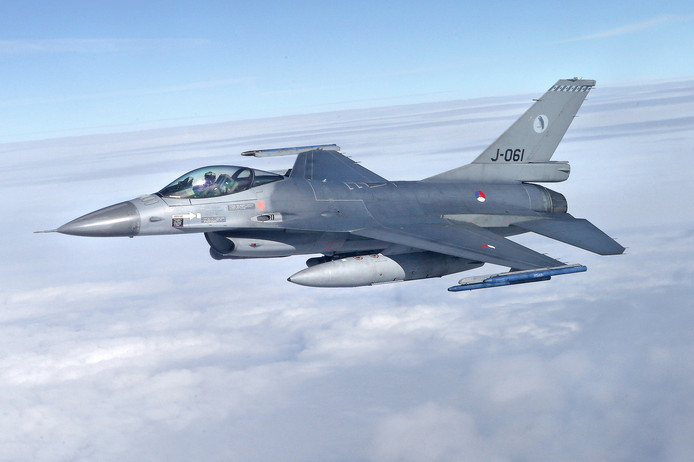 F16. Foto ter illustratie.