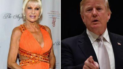 """Ex-vrouw Ivana over Donald Trump: """"Hij zegt al eens gekke dingen maar hij is een stabiel genie"""""""