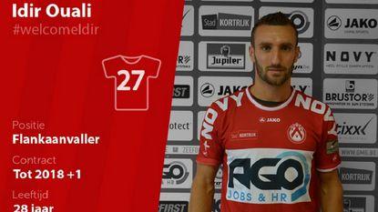 KV Kortrijk haalt winger Idir Ouali (ex-Moeskroen) terug naar België