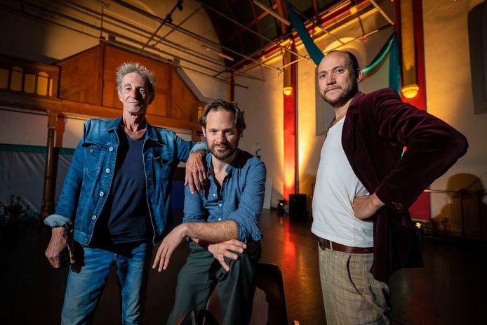 De oprichters van De Bombarst vlnr Ad van Etten, Jordy Sanchez en Noël Josemans.