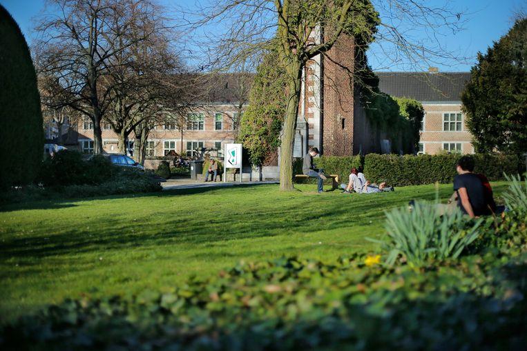 Het begijnhof van Hasselt is het toverachtige decor van Ciné Solidair.