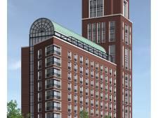 Hotel Paleiskwartier Den Bosch krijgt restaurant op dak, toren van 50 meter en verbinding met Paleisburg