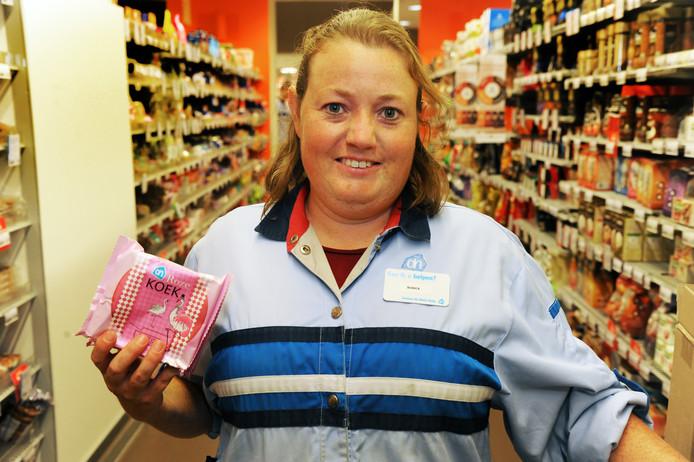 Bianca Davidse uit Wemeldinge kreeg vorig jaar een 'passende' baan bij Albert Heijn in Middelburg.
