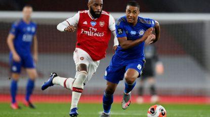 Rode kaart breekt Arsenal zuur op: Tielemans en Leicester rapen punt na late goal Vardy