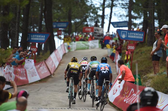De renners keren vandaag terug naar Spanje.