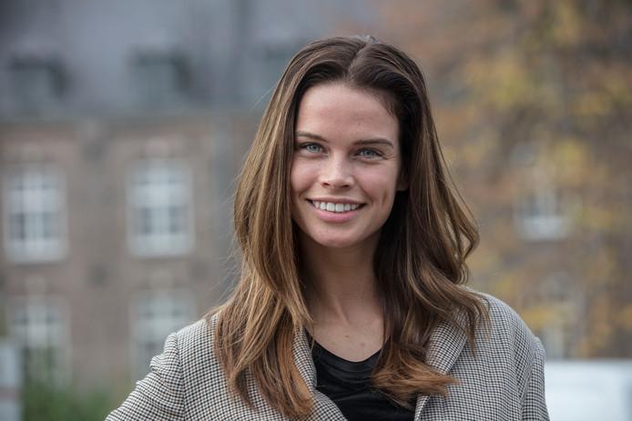Miss Nederland Nicky Opheij in Gemert.