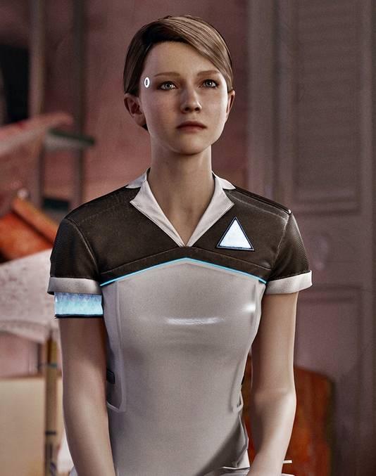 Kruip in de synthetische huid van een androïde.