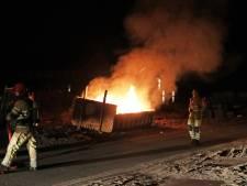 Het houdt niet op: vijftiende brand op Urk in anderhalve maand