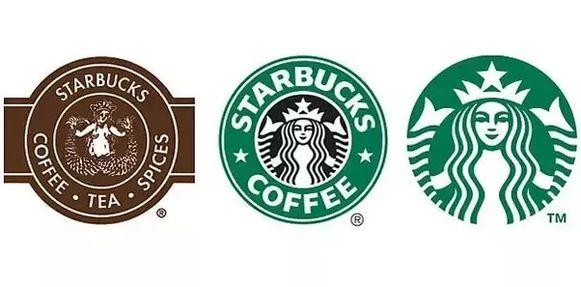 Het logo links dateert uit de jaren '70, het logo in het midden werd gehandhaafd tussen 1992 en 2011, en het rechtse logo is het meest recente exemplaar.