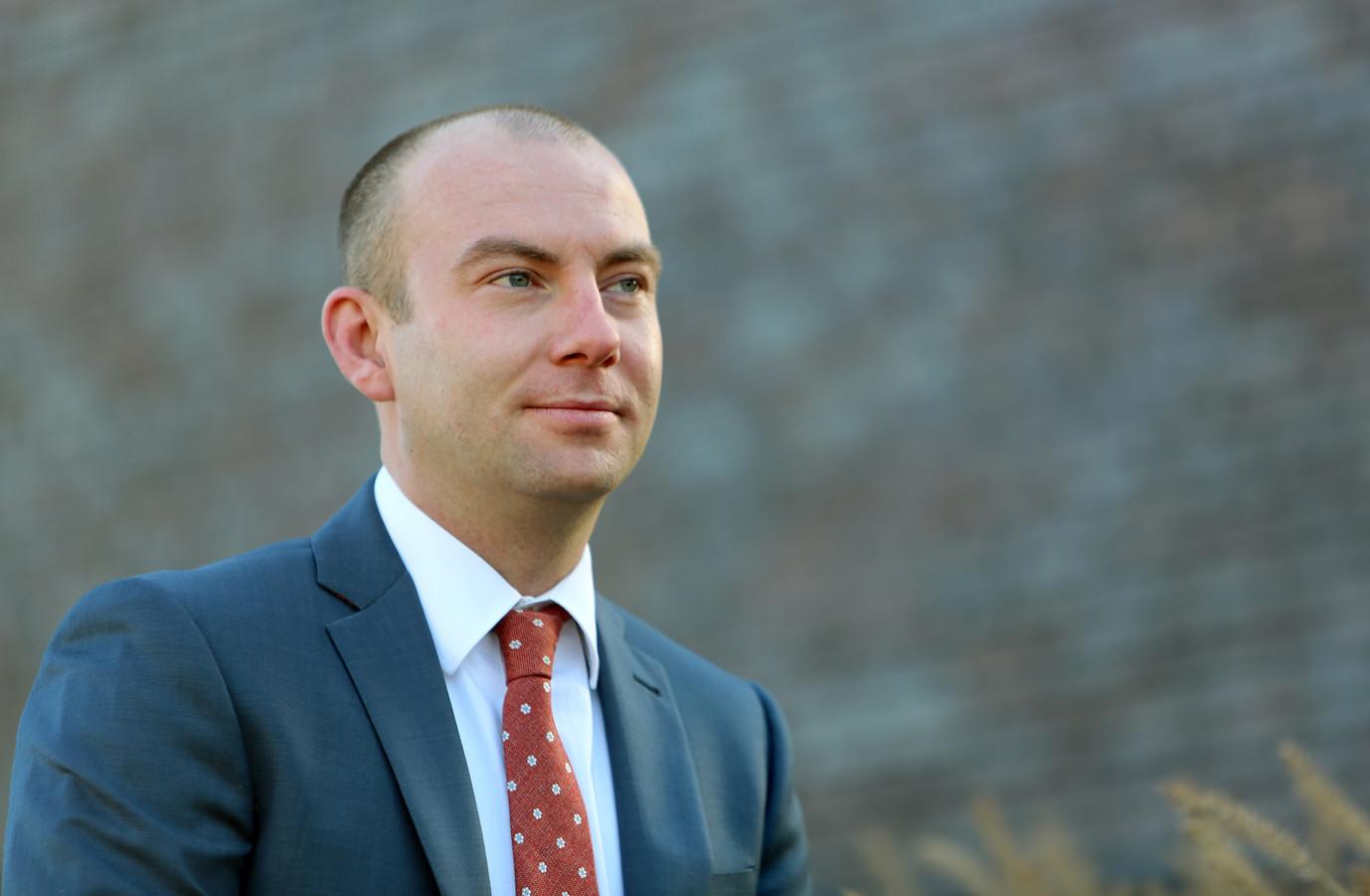 Vincent van Neerbos, de nieuwe burgemeester van West Maas en Waal.