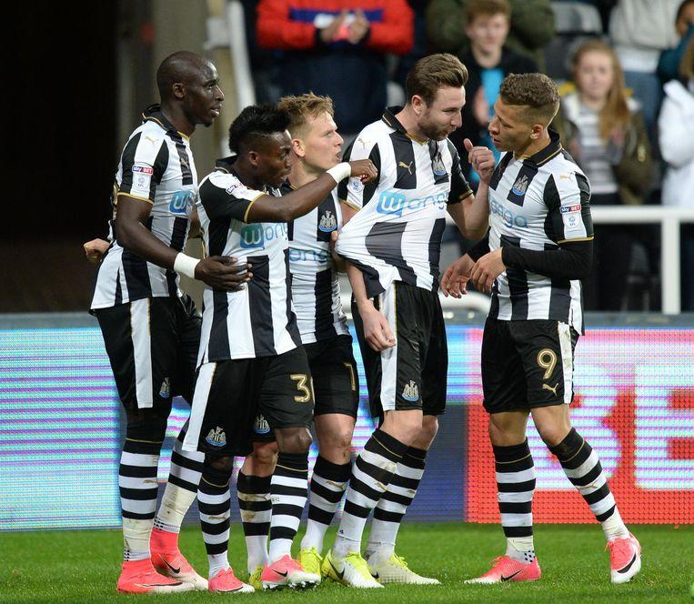 Newcastle United FC. Beeld Hollandse Hoogte