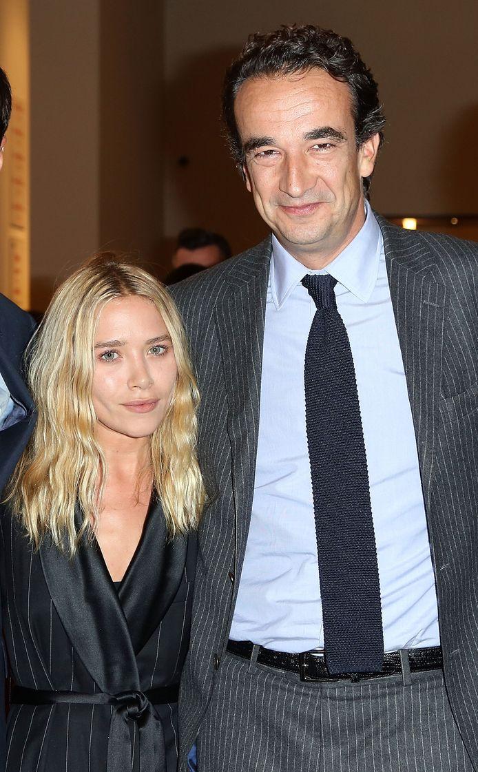 Mary-Kate Olsen en Olivier Sarkozy.