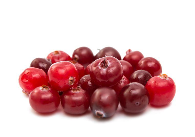 Cranberries kunnen uit een voedselbos 'ontsnappen' naar de wilde natuur en daar inheemse soorten verdringen, waarschuwt de NVWA. Beeld Colourbox