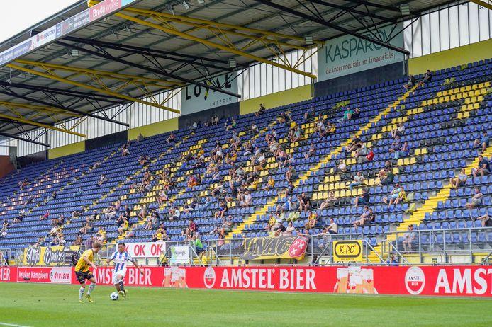 NAC - SC Heerenveen: eerste wedstrijd met publiek bij NAC Breda