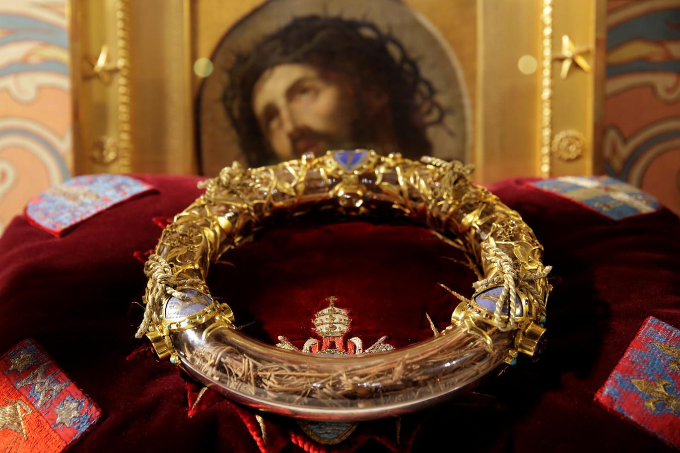 De doornenkroon van Christus.