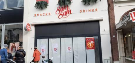 Cafetaria SamSam in Doetinchemse winkelstraat dicht