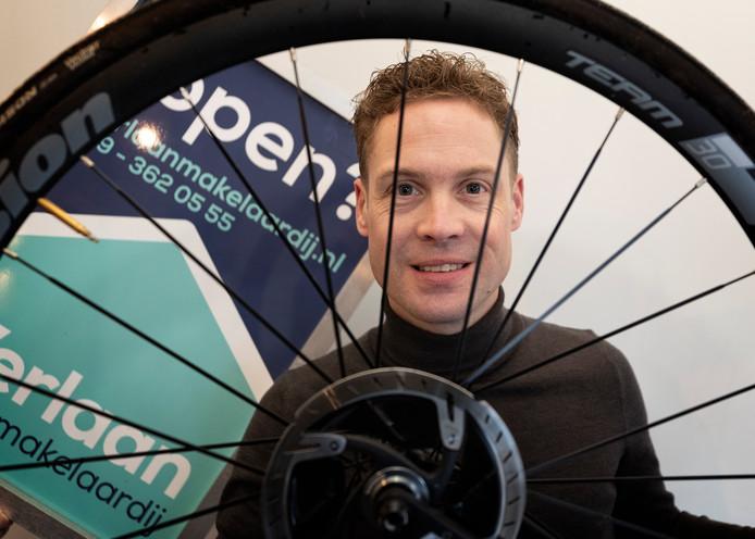 """Ruud Verlaan: ,,Ben je op zoek naar de wijk waar je wilt wonen, pak dan de fiets."""""""