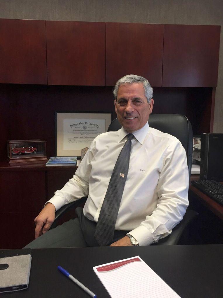 Bankdirecteur Bill Trezza. Beeld