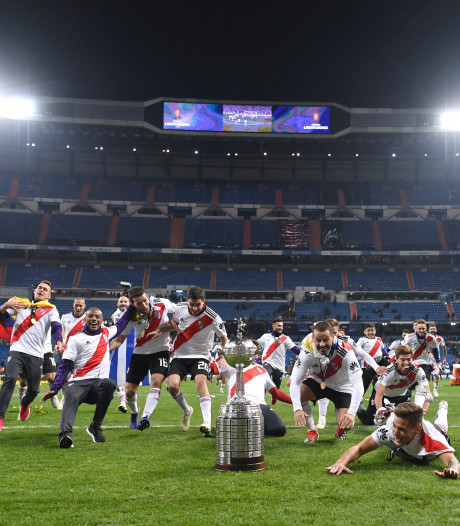 Baas Conmebol geniet van Boca-River in Madrid