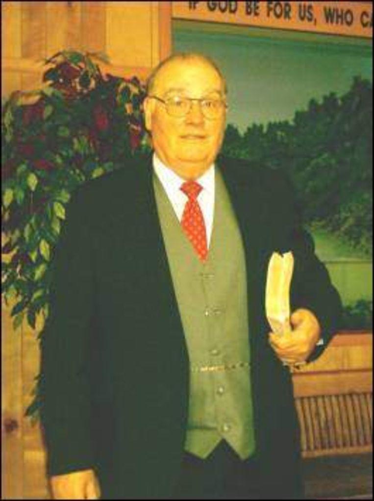 Rev. Liston G. Richardson pastor van de Sunnyview Independent Missionary Baptist Church
