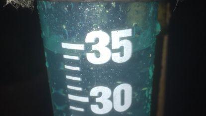 Vlierzele krijgt 35 liter regenwater te verwerken op amper uur tijd
